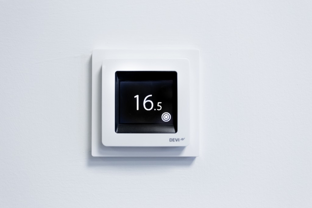 Electric Underfloor Heating Thermostats Gaia Climate