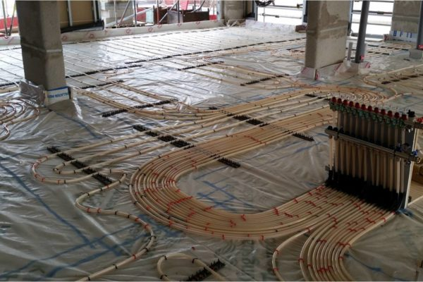 Gaia Wet Underfloor Heating Install