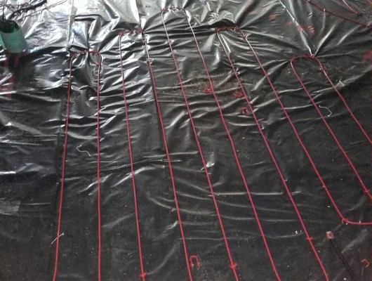 DEVI Heating Cables, Install, electric underfloor heating, DEVI, heating cables, underfloor heating cables, DEVIflex,