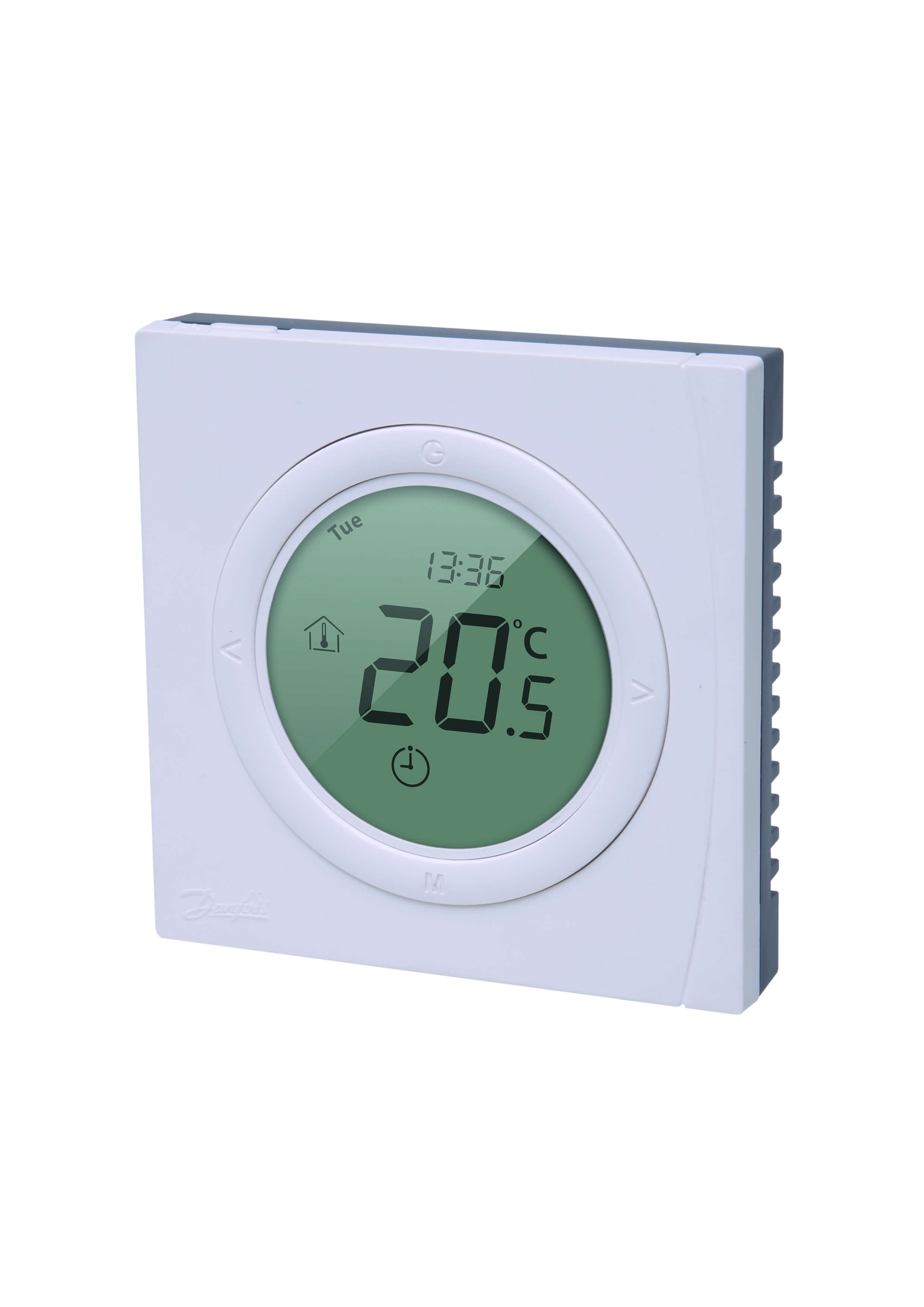 danfoss wt p digital display programmable room thermostat gaia climate solutions. Black Bedroom Furniture Sets. Home Design Ideas