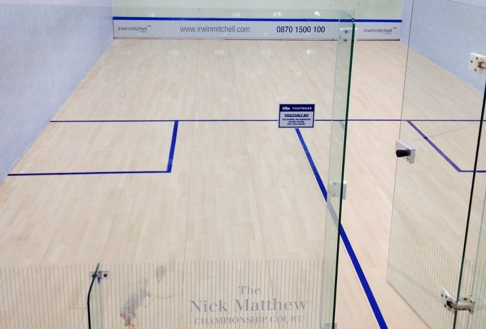 Sheffield Hallam University Squash and Tennis Courts