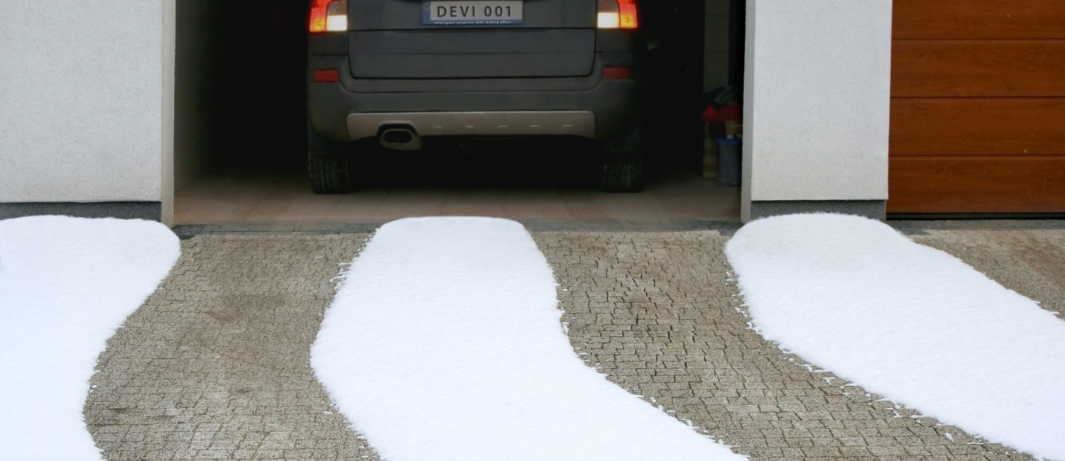 Frost Protection of Prestigious Driveway