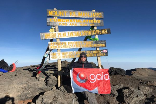 Matt Janney, Mount Kilimanjaro, Charity, Movember UK, Gaia, Underfloor Heating