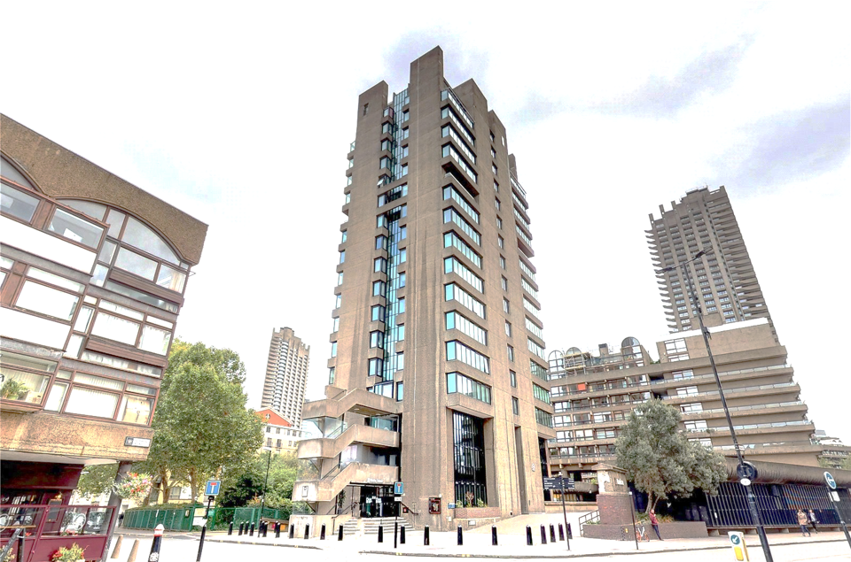 Grade II listed building in cultural Barbican modernised