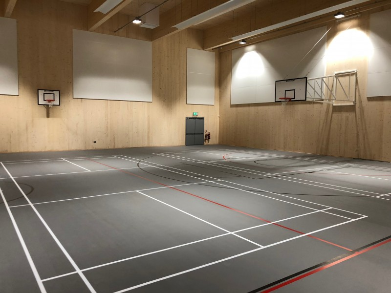 Eileen Ash Sports Hall - Gaia