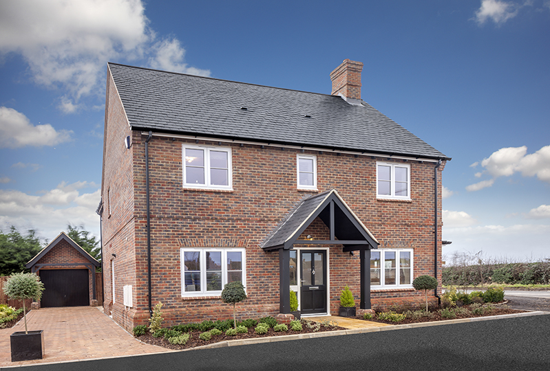 Rectory Homes development warmed up in rural Buckinghamshire