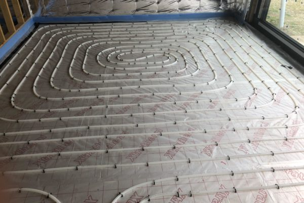 Wet Underfloor Heating Systems