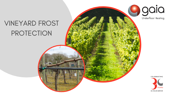 Vineyard Frost Protection System