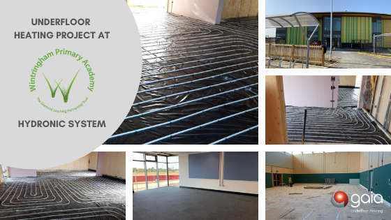 Wintringham Primary Underfloor Heating Project